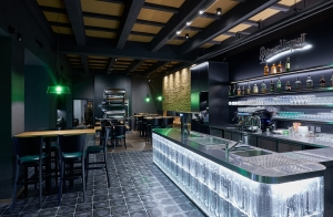 Basalt tiles in interior design 2