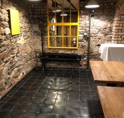 Basalt tiles in interior design 7