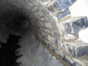 Ziegelgewölbe und Kanalverkleidung DN800