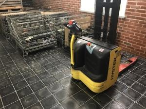 Basalt tiles - industrial floor
